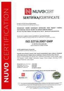 ISO 22716-2007 GMP
