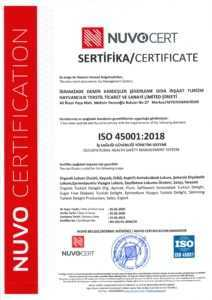 ISO 450012-2018